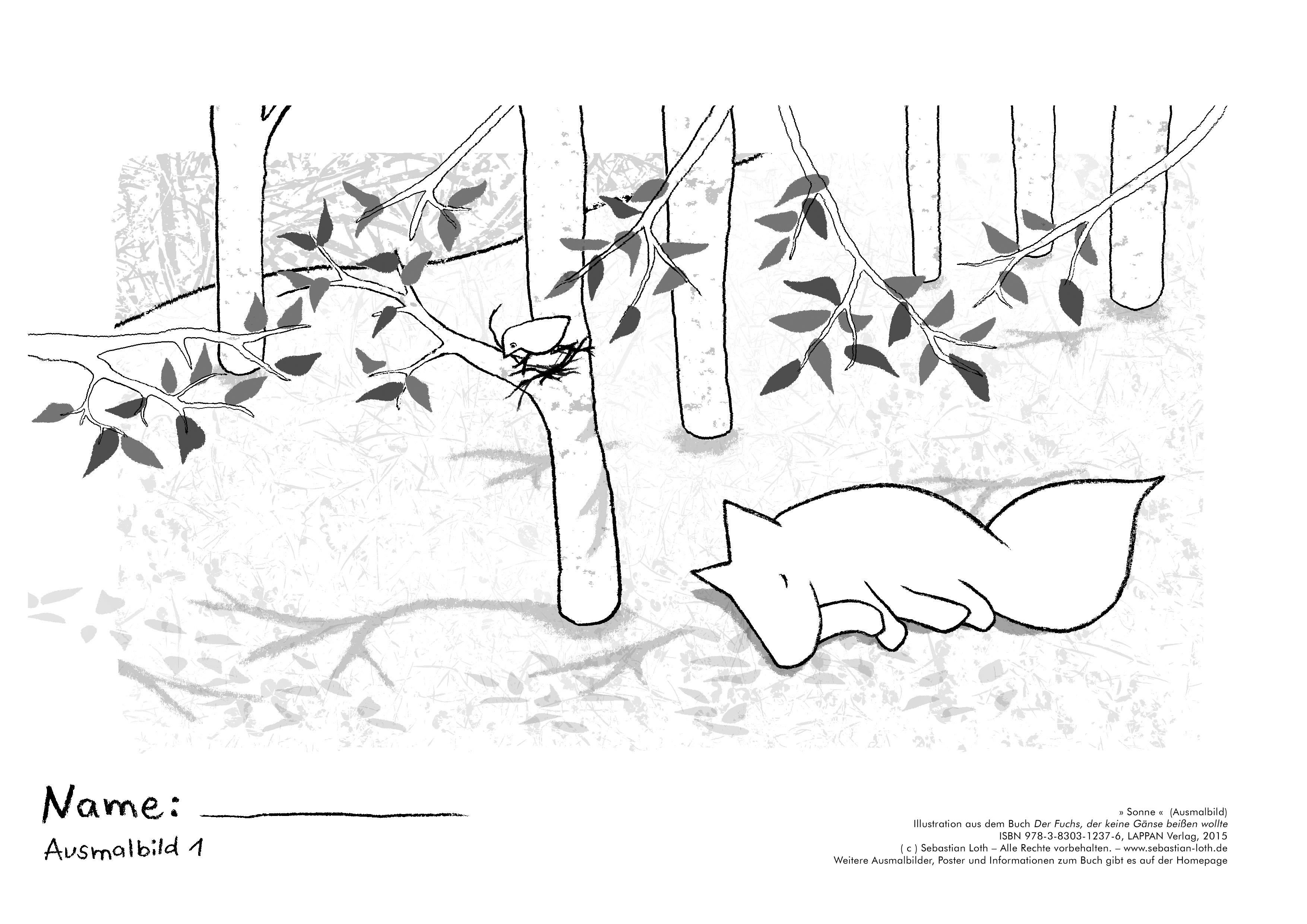 Sebastian Loth Autor Illustrator Der Fuchs